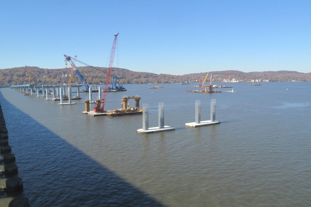 View of the Rockland approach - November 3, 2015