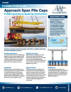 Approach Span Pile Caps