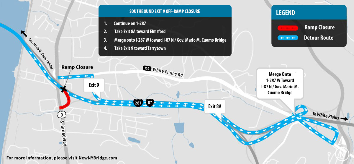 Traffic Shift Scheduled Next Week Overnight Lane And Ramp